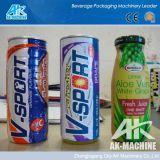 Volle automatische Shrink-Hülsen-Etikettiermaschine für Flaschen, kann und höhlt usw.
