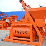 Betonmischer der Hochleistungs- Js Serien-Zwilling-Welle-Js750