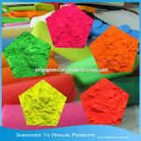 Poudre de pigment fluorescent pour la peinture de l'encre