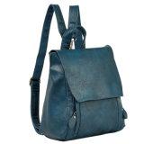 Zaino di cuoio casuale all'ingrosso di modo del banco del sacchetto della signora viaggiare dell'unità di elaborazione per l'adolescente