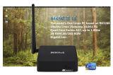 Doos van TV Linux van de Kern Rk3288 van de vierling de Mini met LAN Gigabit