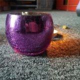 De purpere Houder van de Kruik van het Glas van de Kunst voor de Decoratie van het Huis