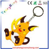 昇進のギフトのための3D Pokemonゴム製Keychain