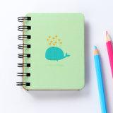 Kundenspezifisches Taschenbuch/gewundenes Papierschule-Notizbuch, Tagebuch-Drucken