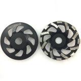 rodas de moedura segmentadas diamante do copo de 180mm para o assoalho concreto