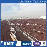 Hot Sale PV solaire Système de rayonnage galerie de toit de tuiles en ardoise crochet du panneau