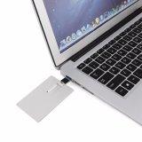 Laufwerk-Flash-Speicher-Stock-Geschenk-Laser Metallkarte USB-3.0