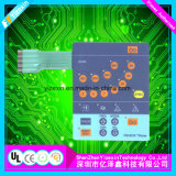 Flexible Kreisläuf-Basissteuerpult-Tastaturblock-elektronischer Membranschalter