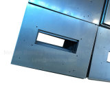 Часть металлического листа высокого качества нестандартной конструкции