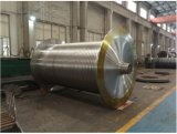 SAE4340 SAE1060 C60 SAE1045 forjou o eixo aluído de aço