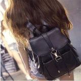 新しいデザイナー女性のための偶然学生のバックパックPUのLambskinのバックパック