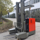 Stand-up Rider 1.5-2T 4 Voies de type multi-Direction de la batterie du chariot Reach pour l'entrepôt