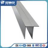 Norme de qualité élevée en aluminium anodisé Profil pour afficher la partition de la salle