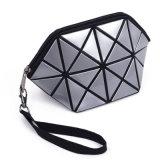 Form geometrischer dreieckiger Laser-Kosmetik-Beutel