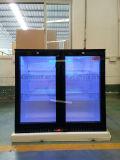 Refrigeratore commerciale Madre della birra del frigorifero di portello della parte posteriore della birra di vetro della barra in Cina