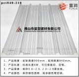 La vente directe d'usine Bayer Sabic 1050 N° de tôle ondulée sur PC en polycarbonate de tôle ondulée sur l'éclairage de pavillon
