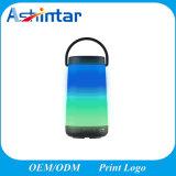 Spreker Bluetooth van de Lamp van de Atmosfeer van de Toorts van de Lamp Vlam van de HOOFD de Kleurrijke Mini van de Spreker Draadloze