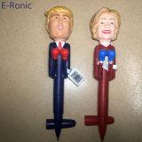 Basta premir o botão Play e dons engraçado falar de boxe de canetas de feltro para Trump e Hillary fãs