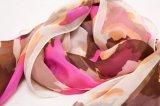 Lenço feito sob encomenda da seda da cópia de Digitas da fábrica