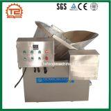 Schweinefleisch-Knistern-Stapel-Bratpfanne und frittieren Maschine
