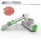 폐기물 HDPE 병은 플라스틱 작은 알모양으로 한 기계를 Regrind