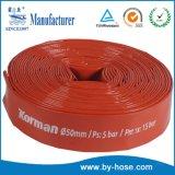 China fabricante de la fábrica de manguera de PVC Layflat