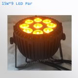 Водонепроницаемый 15W 9 Открытый этапе лампа LED PAR лампа