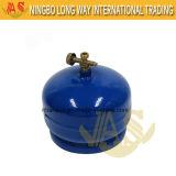 L'utilisation campante 2kg vident le cylindre de gaz