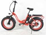 Graisse électrique de vélo de pliage urbain de 20 pouces