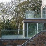 Het gelamineerde Systeem van het Traliewerk van het Balkon van het Kanaal van U van het Aluminium van het Comité van het Glas