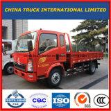 4X2 HOWOの軽い貨物トラック