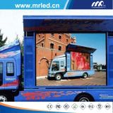 Mrled P16mm Visor LED móvel para casos de publicidade