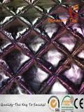 Красочные Gold тиснение склейка Стеганая куртка ткань Pongee хлопка