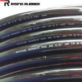 Tubo flessibile idraulico di gomma Braided della resina della fibra ad alta pressione (R7 R8)