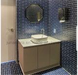 Popular para el cuarto de baño decoración mural mosaico de porcelana 45x195mm