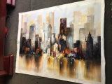 Het grote Schilderen van de Kunst van het Canvas van de Decoratie van de Muur Met de hand gemaakte online voor het Decor van de Slaapkamer