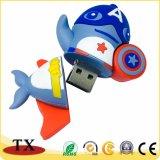 Unidade Flash USB de PVC promocional flash USB para Dom Item