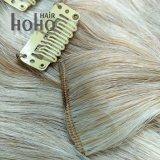 高品質のピアノカラー総合的な毛の拡張の22インチクリップ