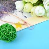 Colagem de tricotar nenhuma lâmpada de loop de pino de metal para pendurar Tag
