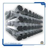 Tubos de Aço Galvanizado leve Mill tubo redondo de aço soldado de carbono Ms Pré Aço Galvanizado