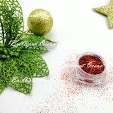 Mediumblue Natal holográfico cintilante de pó de pigmento