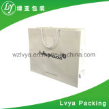 Saco branco do presente do papel de embalagem, Sacos de compra para vestuários Proromotion