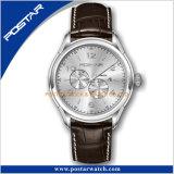 Cristal de safira elegante caixa de edição limitada do relógio de pulso resistente à água