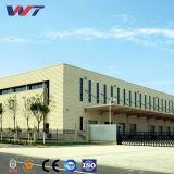 Edificio de acero pre dirigido doble del taller de la estructura de la cuesta