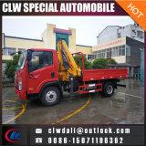 Buena calidad 4X2 grúa montada /Truck telescópica de la grúa del carro del auge de 5 toneladas
