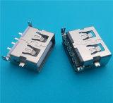 무료 샘플 2.0 PCB 마운트 정각 USB 연결관