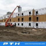 China prefabriceerde de Bouw van het Hotel van de Villa van de Structuur van het Staal