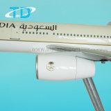 Aereo civile del modello della resina della grande scala di Saudia A330-300