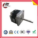 Pequeno-Vibração 57*57mm NEMA23 motor de piso de 1.8 graus para máquinas do CNC