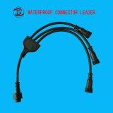 1 in 2-5 fuori LED illumina il connettore della plastica di 3 modi Y